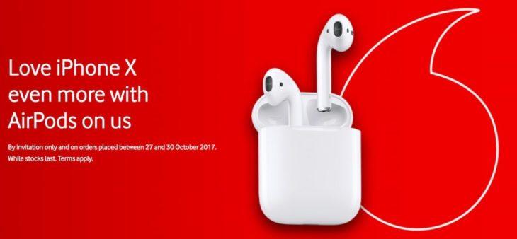iPhone X : des opérateurs offrent des AirPods avec la précommande