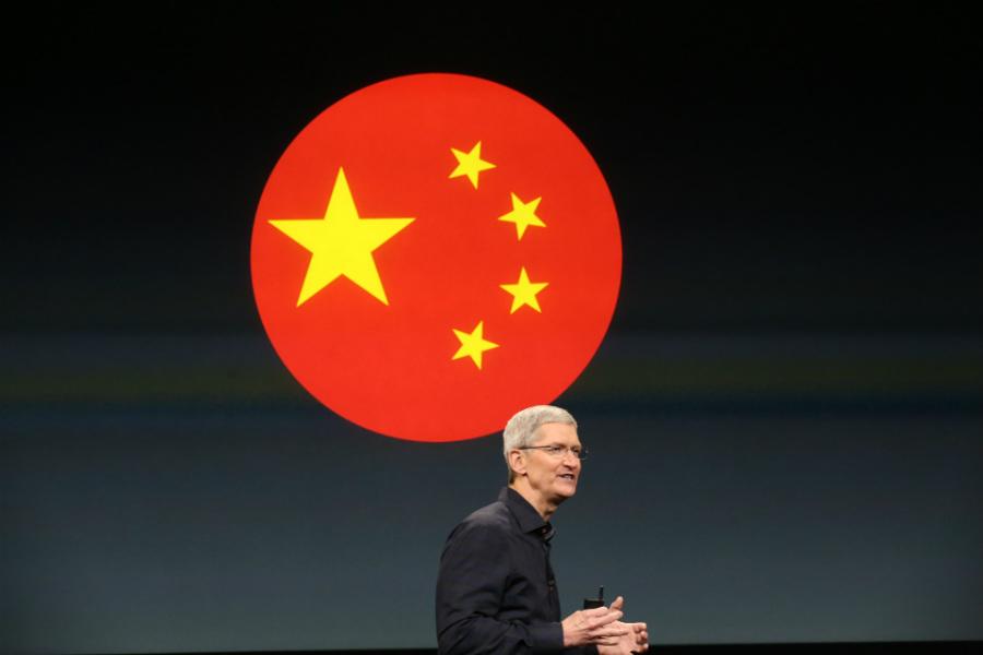 apple chine tim cook - Chine : une croissance de 30% pour Apple grâce à l'iPhone 8