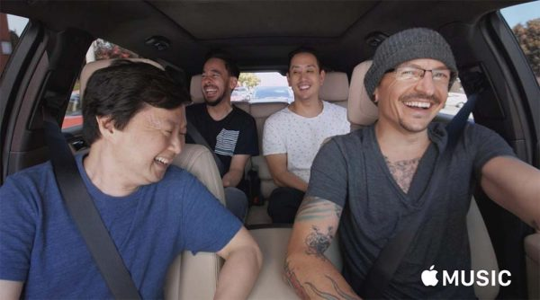 apple music linkin park - Carpool Karaoke : l'épisode avec Chester Bennington (Linkin Park) gratuit