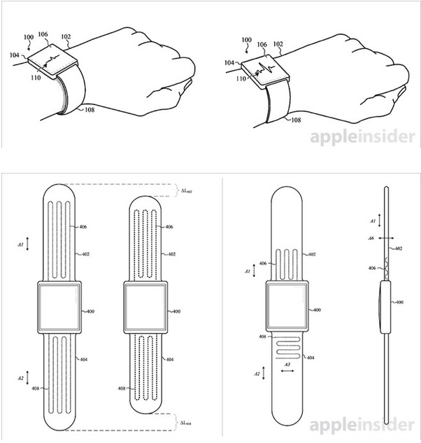 Apple Watch : un brevet pour un bracelet auto-ajustable
