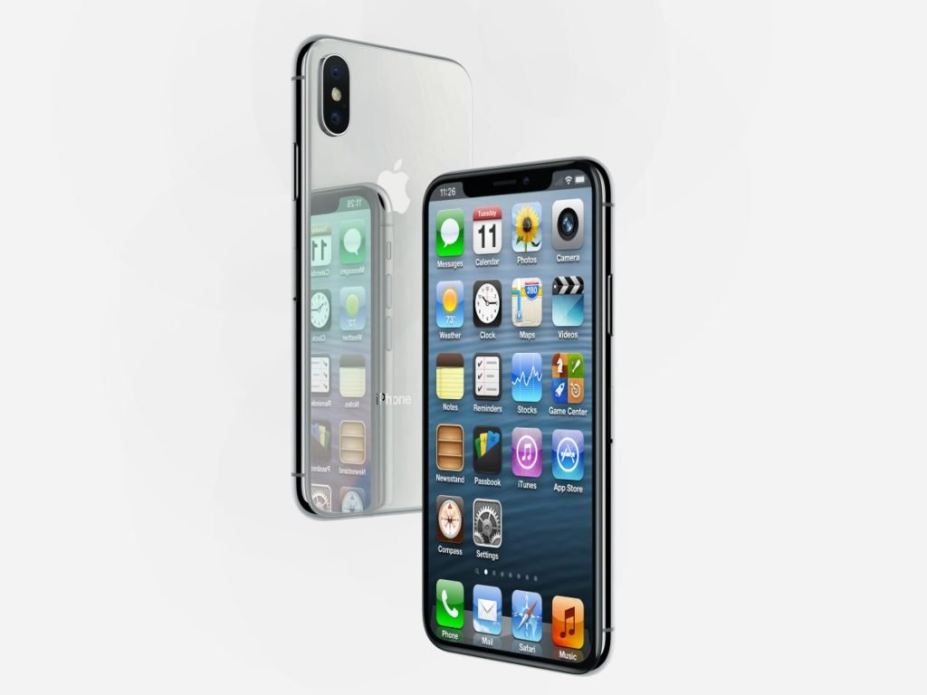 concept iphone x ios 6 1024x768 - Concept : un iPhone X non pas sous iOS 11, mais sous iOS 6 !