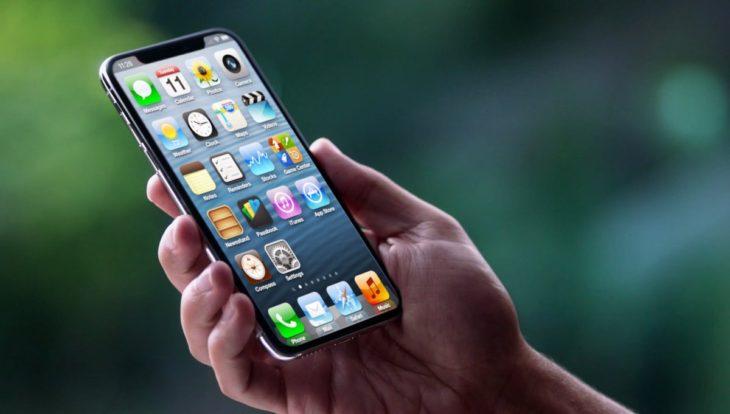 Concept : un iPhone X non pas sous iOS 11, mais sous iOS 6 !