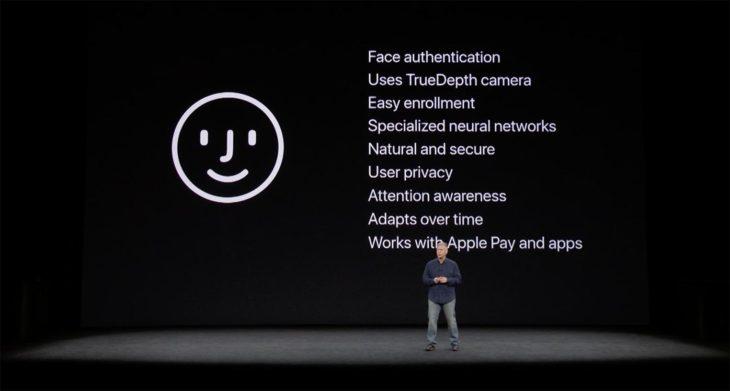 La reconnaissance faciale Face ID de l'iPhone X sur l'iPad Pro de 2018 ?