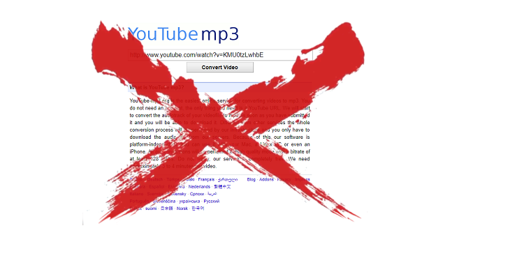 fermeture youtube mp3 - Fermeture de YouTube-MP3 : quelles alternatives ?