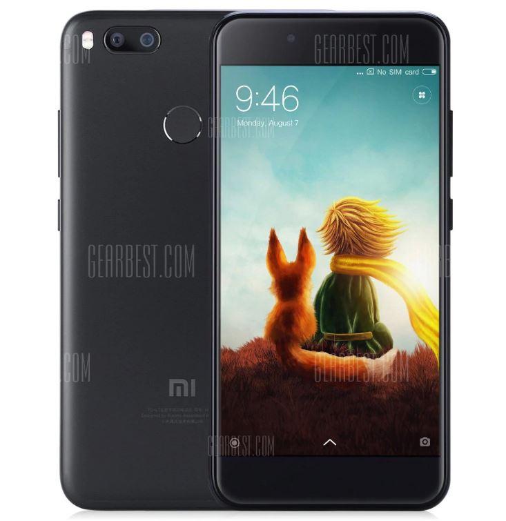 gearbest xiaomi mi a1 noir - Bon Plan : le Xiaomi Mi A1 (Android One) à 177,69€ sur GearBest !