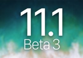 iOS 11.1 bêta 3 est disponible pour les développeurs