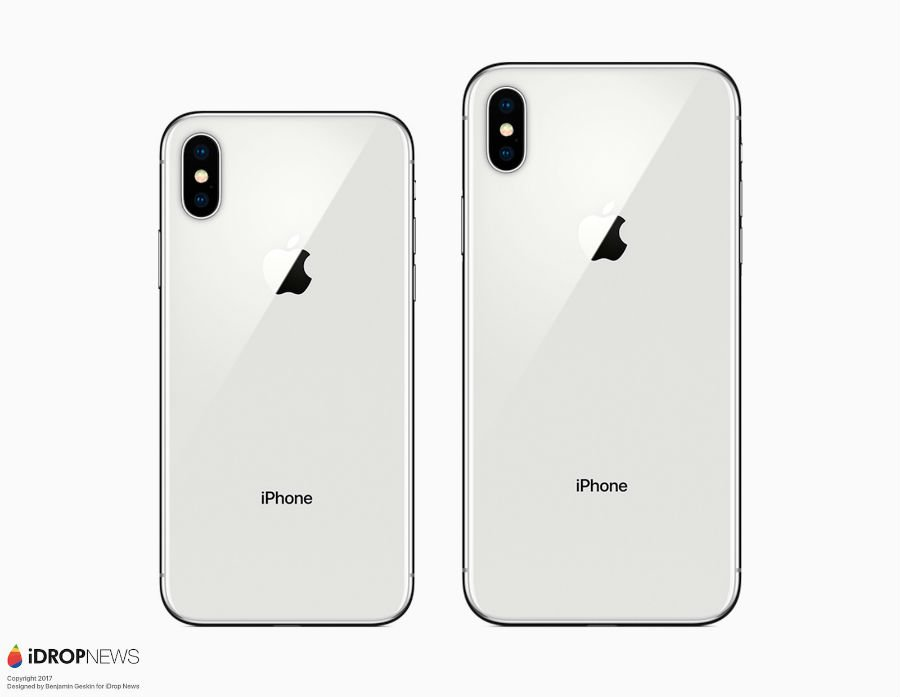 iPhone X vs iPhone X Plus concept - iPhone X Plus (2018) : un premier concept avec un écran de 6,4 pouces