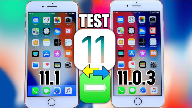 iOS 11.1 (bêta) semble proposer une meilleure autonomie qu'iOS 11