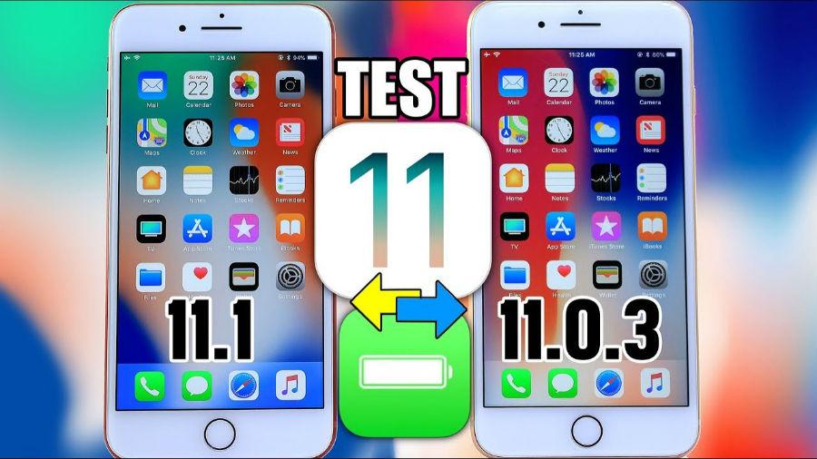 ios 11 1 vs ios 11 0 3 autonomie - iOS 11.1 (bêta) semble proposer une meilleure autonomie qu'iOS 11