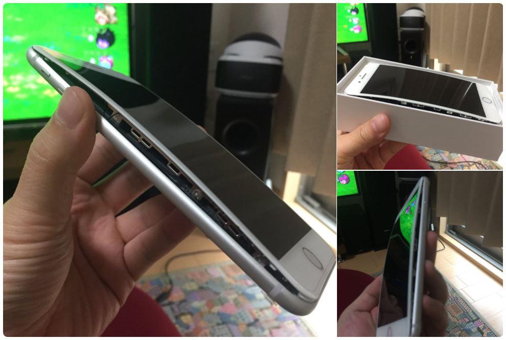 iphone 8 plus ouvert ecran deux - iPhone 8 Plus : plusieurs cas d'écran se détachant du châssis