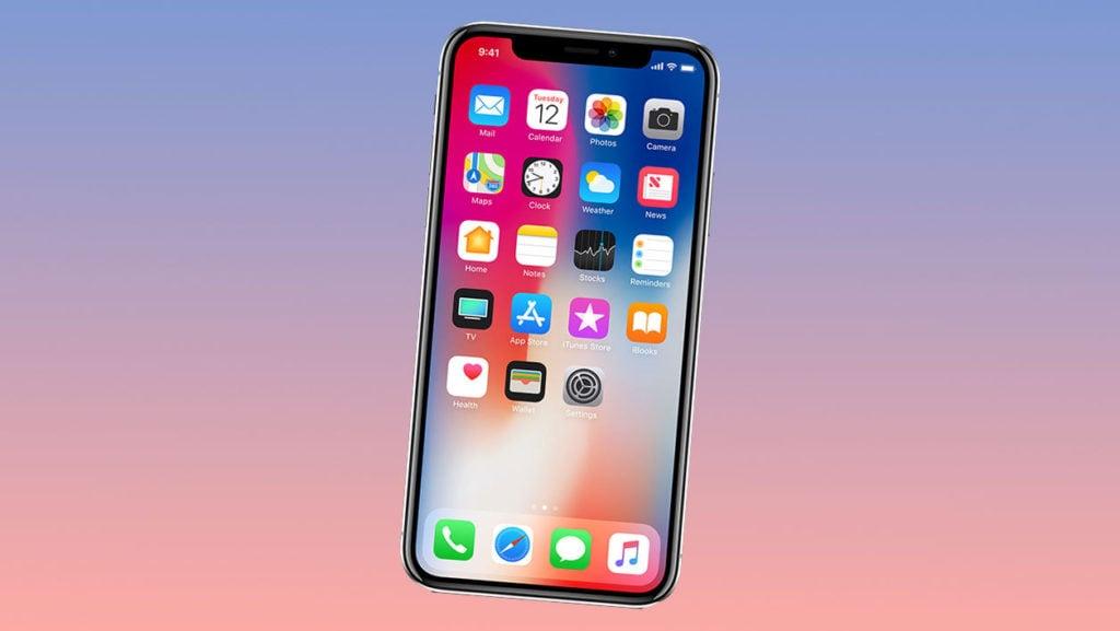 iphone x 1024x577 - iPhone X : la production limitée à 400 000 unités hebdomadaires ?