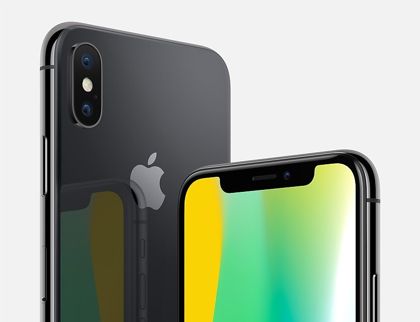 iphone x gris sideral apple - iPhone X : le smartphone ne devrait pas battre de records avant 2018