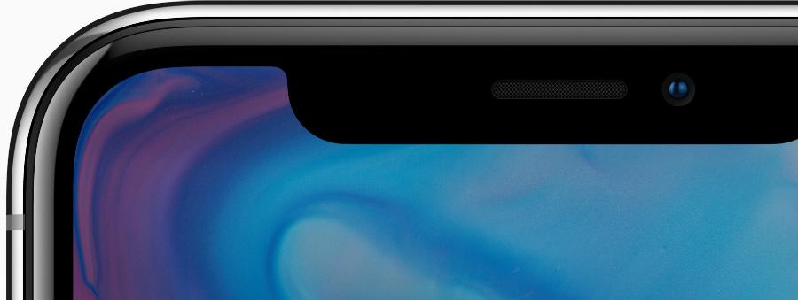 iphone x oled ecran haut - iPhone X : Apple apporte des précisions sur l'écran OLED