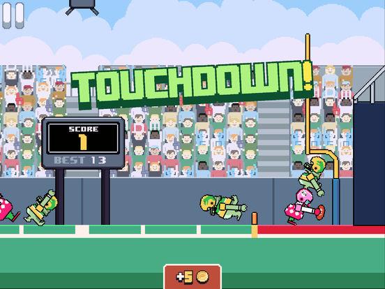 Jeu du jour : Touchdowners (iPhone & iPad)