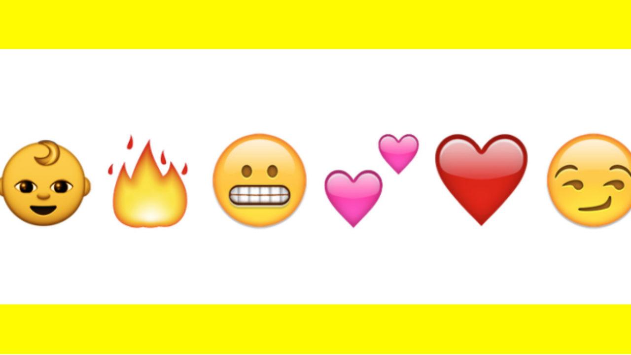 Snapchat Signification Des Emojis Smileys émoticônes Sur Snap