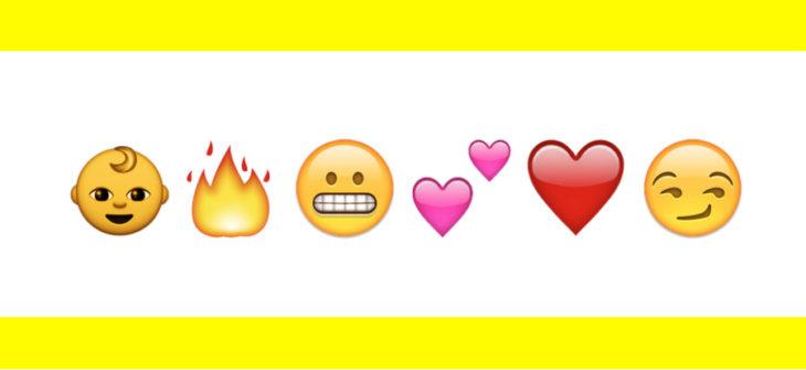 Snapchat : signification des emojis, smileys & émoticônes sur Snap