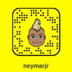 Snapchat Neymar Jr : compte officiel