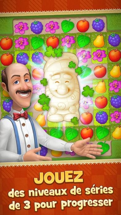 Gardenscapes - Jeux de Match 3 : 6 alternatives à Candy Crush Saga sur iPhone & iPad