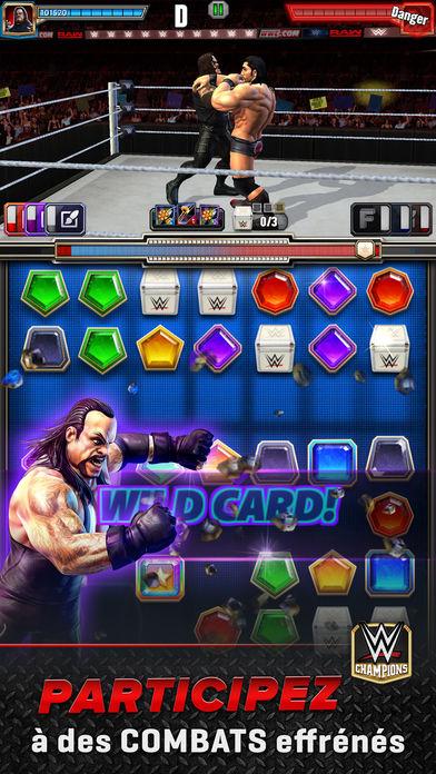 WWE Champions JDR de combat - Jeux de Match 3 : 6 alternatives à Candy Crush Saga sur iPhone & iPad