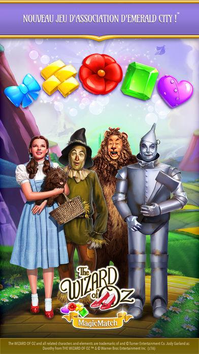 Wizard of OZ Magic Match - Jeux de Match 3 : 6 alternatives à Candy Crush Saga sur iPhone & iPad