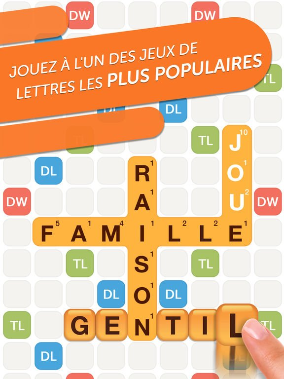 Words With Friends 2 - Jeu du jour : Words With Friends 2 (iPhone & iPad)