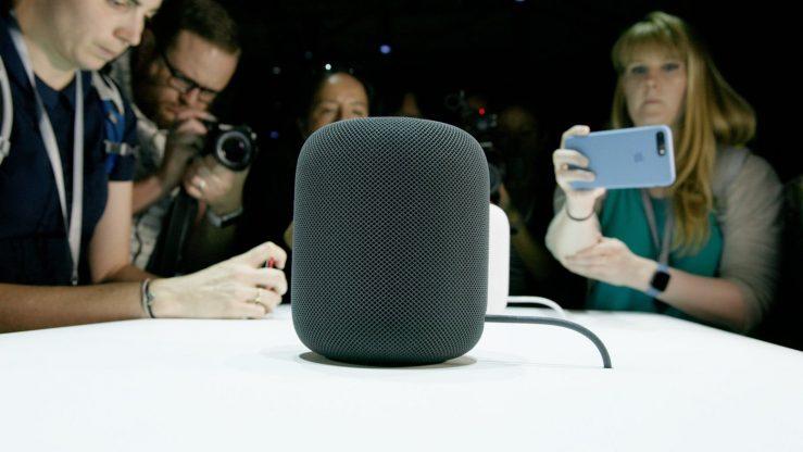 apple homepod gris - Apple : un futur HomePod avec la reconnaissance faciale Face ID ?