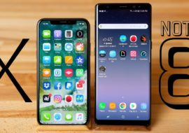 Benchmark : l'iPhone X bien meilleur que le Samsung Galaxy Note 8