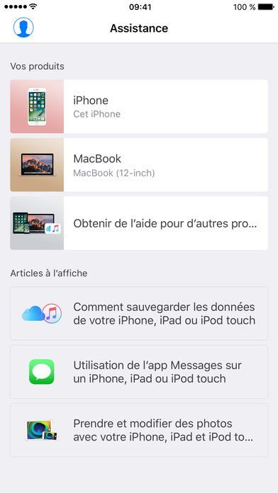 assistance apple - App du jour : Assistance Apple (iPhone & iPad)