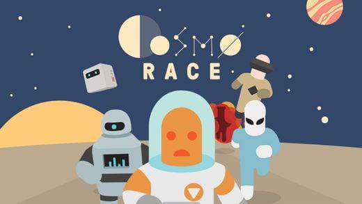 cosmo race - Jeu du jour : Cosmo Race (iPhone & iPad)