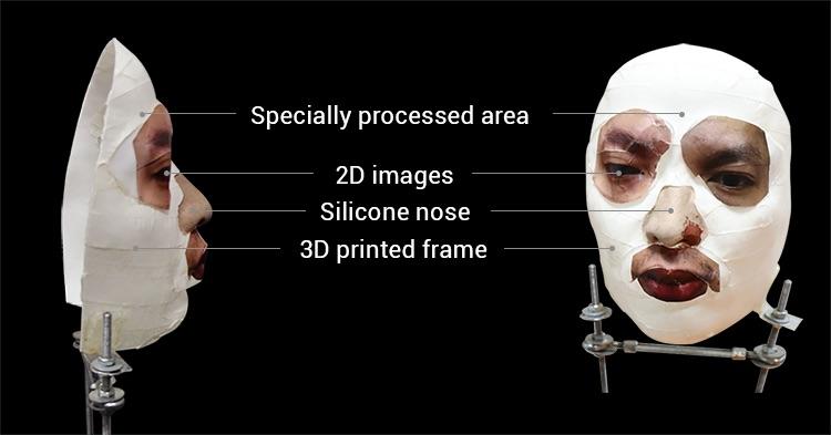 face id trompe masque - iPhone X : Face ID peut être trompé à l'aide d'un masque personnalisé