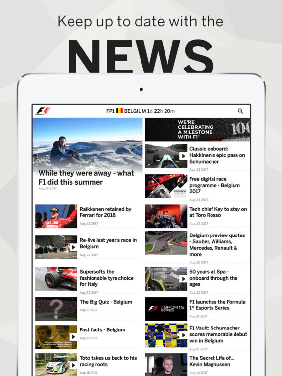 formula 1 - App du jour : Formula 1 (iPhone & iPad)