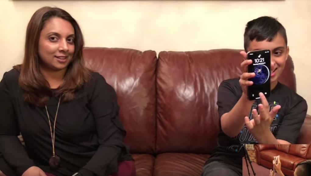 garcon deverrouille iphone x sa mere - Face ID : un garçon arrive à déverrouiller l'iPhone X de sa mère