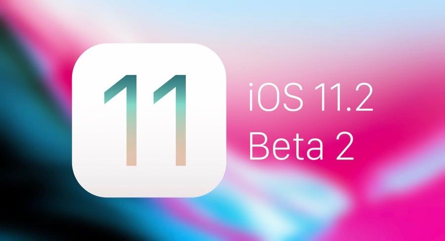 iOS 11.2 Beta 2 - iOS 11.2 bêta 2 disponible pour les développeurs