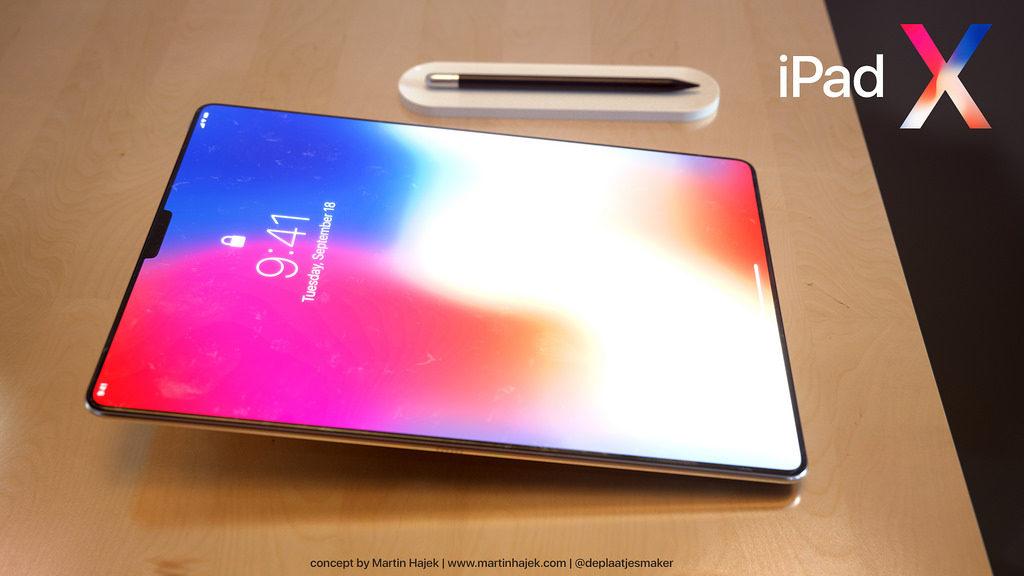iPad X Concept Martin Hajek 11 1024x576 - iPad X : un concept qui mélange l'iPad Pro et l'iPhone X, par Martin Hajek