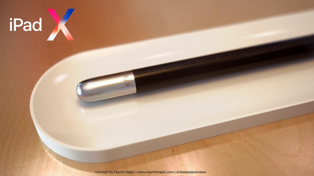 iPad X Concept Martin Hajek 2 1024x576 - iPad X : un concept qui mélange l'iPad Pro et l'iPhone X, par Martin Hajek