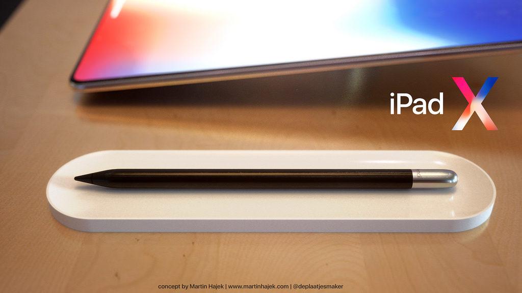 iPad X Concept Martin Hajek 3 1024x576 - iPad X : un concept qui mélange l'iPad Pro et l'iPhone X, par Martin Hajek