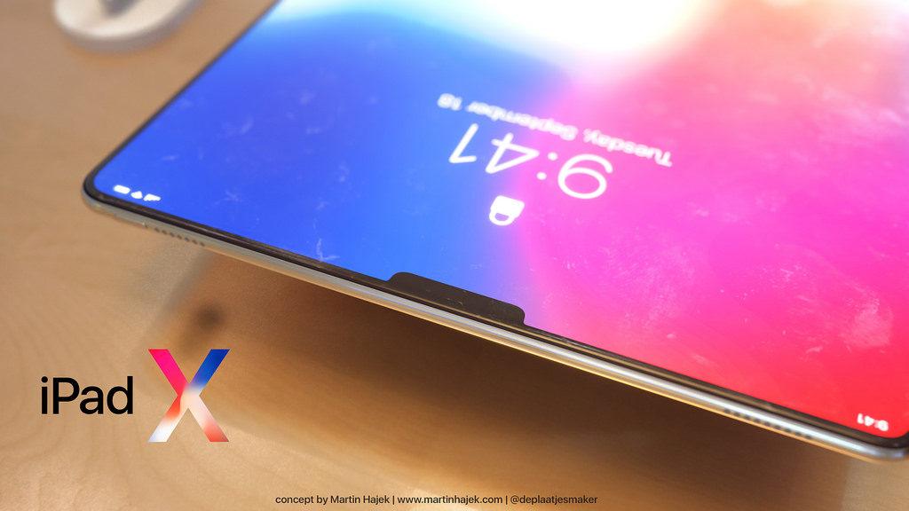 iPad X Concept Martin Hajek 5 1024x576 - iPad X : un concept qui mélange l'iPad Pro et l'iPhone X, par Martin Hajek