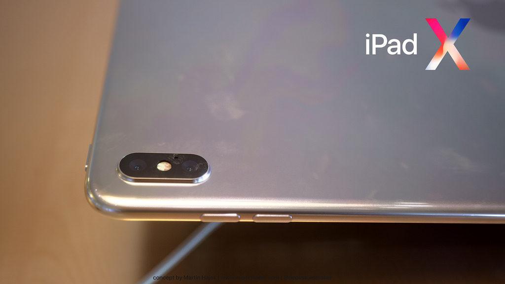 iPad X Concept Martin Hajek 6 1024x576 - iPad X : un concept qui mélange l'iPad Pro et l'iPhone X, par Martin Hajek