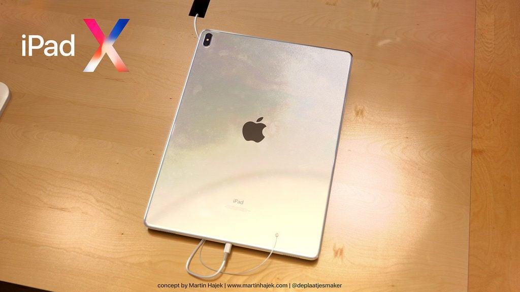 iPad X Concept Martin Hajek 8 1024x576 - iPad X : un concept qui mélange l'iPad Pro et l'iPhone X, par Martin Hajek