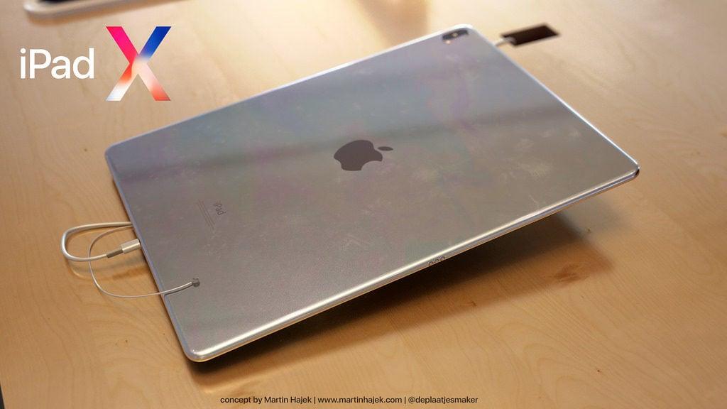 iPad X Concept Martin Hajek 9 1024x576 - iPad X : un concept qui mélange l'iPad Pro et l'iPhone X, par Martin Hajek