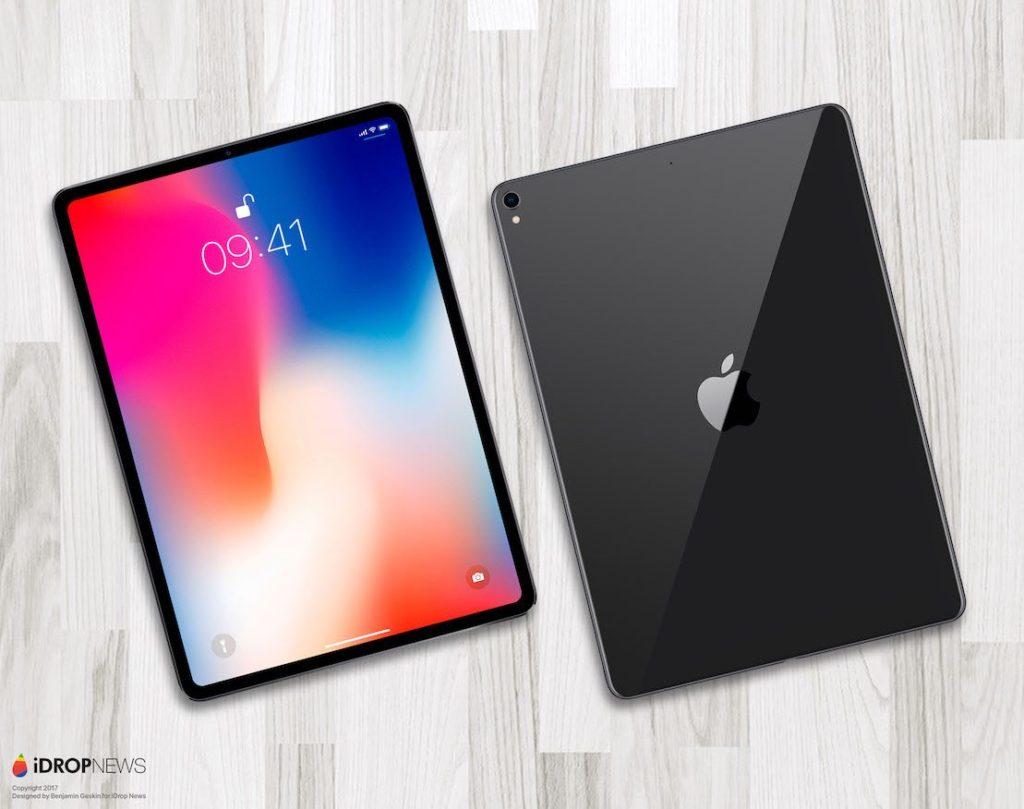 idropnews iPad Pro 2018 concept 10 1024x809 - L'iPad Pro Face ID équipé d'un processeur Apple A12X ?