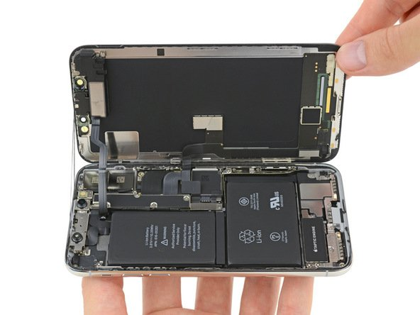 ifixit demontage iphone x batterie - iPhone X : son démontage par iFixit révèle la double batterie en L