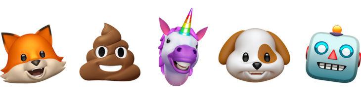 iPhone X : découvrez les 12 Animoji d'iOS 11 en vidéo