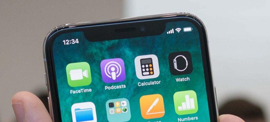 iphone x ecouteur 1024x463 - iPhone X : des grésillements au niveau du haut-parleur supérieur