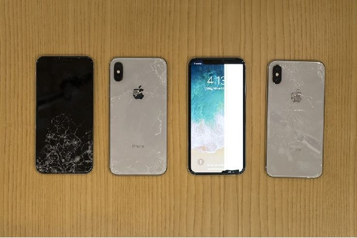 iphone x fragile casse verre - iPhone X : le téléphone Apple le plus cher... et le plus fragile !