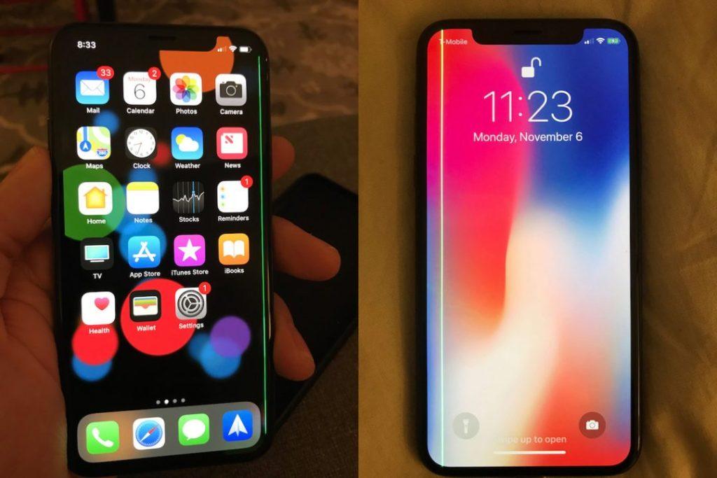 iPhone X : une ligne verte apparaît sur l'écran de certains modèles