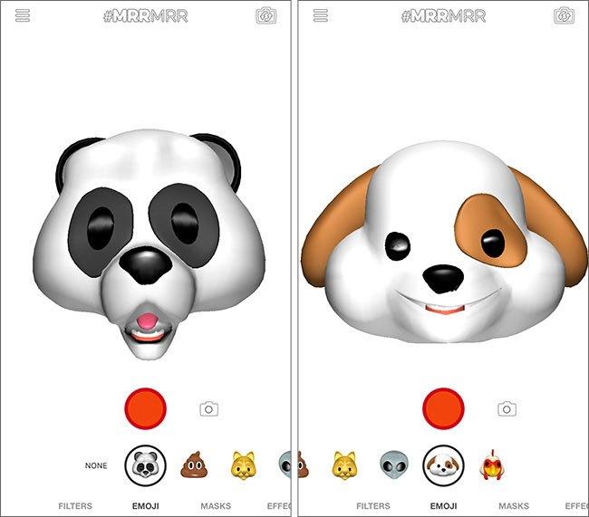 MRRMRR iPhone Animoji - MRRMRR : l'app qui propose des Animoji-like sur tous les iPhone