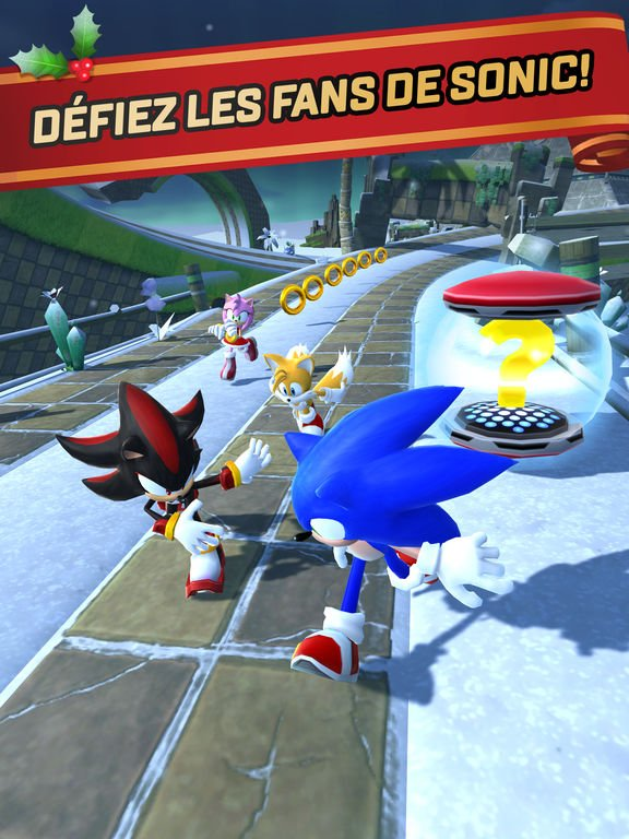 Sonic Forces Speed Battle - Jeu du jour : Sonic Forces : Speed Battle (iPhone & iPad - gratuit)
