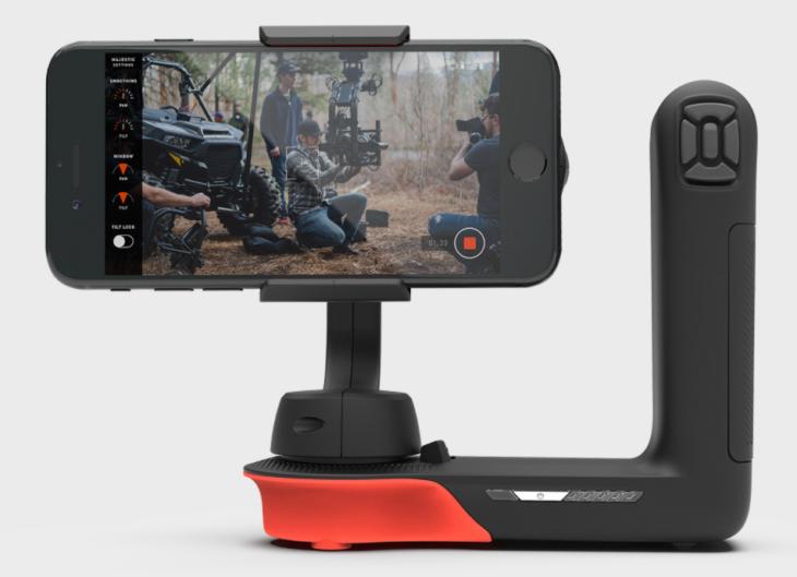 Movi : un stabilisateur actif spécialement conçu pour l'iPhone