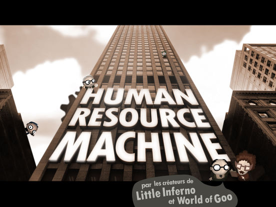 Jeu du jour : Human Resource Machine (iPhone & iPad - 5,49€)